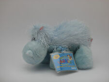 Webkinz HIPPO, Light Blue w/Pink Ears HM002 New with TAGS & Un-used Code, CUTE!