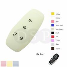 Night Glow Silicone Cover fit for FORD Fusion Smart Remote Key Fob 4 Buttons TR