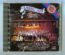 Classic Aid - Benefit Concert - Scarce 1987 Japan For Europe Cd Album - Beauty!