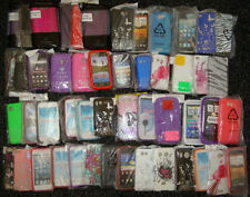 JOBLOT OF 50 X  MOBILE PHONE COVERS FOR HTC, SAMSUNG & APPLE