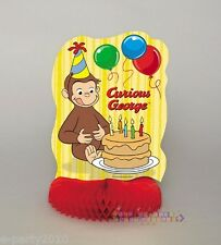 CURIOUS GEORGE HONEYCOMB CENTERPIECE ~ Birthday Party Supplies Table Decorations