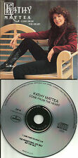 KATHY MATTEA Come from the heart CARDED SLEEVE 1989 USA PROMO DJ CD single CDP48