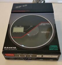 VINTAGE 1980's SANYO CP 10 PORTABLE COMPACT DISC CD PLAYER