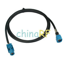 10pcs FAKRA HSD LVDS male to female 1.2m for BMW Mercedes USB Kabel Cable 535