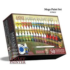 The Army Painter: Warpaints Mega Paint Set 2017 Edition WP8021 FREE SHIPPING