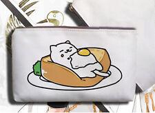 Game Neko Atsume Cat Backyard Canvas Pencil case Phone Bag Coin Purse 5 Styles