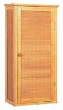 Bamboo Wardrobe - Bathroom cupboard with an Door, Bathroom, Furniture