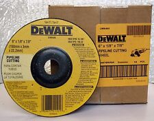 "DEWALT DW8485 6""X1/8""X7/8"" Depressed Center Pipeline Cutting Wheel-Box of 10"