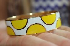 Vintage Kate Spade Idiom Bangle Bracelet 'A Place In The Sun' Pristine Condition