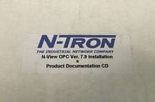 N TRON N-View OPC Version 7.9 Installation Software CD