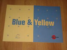 Prospekt Wohnwagen Bürstner Blue & Yellow, 11/2004, Caravan, Katalog