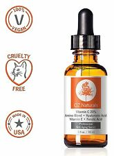 ● OZ Naturals THE BEST Vitamin C + Amino + Hyaluronic Acid Serum FREE NEXT DAY ●