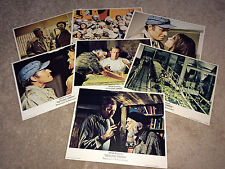 SOYLENT GREEN Movie Lobby Card Posters 1973 Charlton Heston Sci-Fi Horror