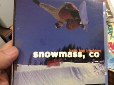 TRACKS FROM TRENCHTOWN  CD AND CD ROM SNOWMASS SKI SNOWBOARD  ASPEN