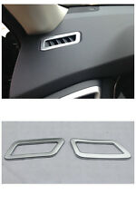 Matt Inner Front Air Vent outlet Cover Trim for Nissan Rogue X-Trail 2014-2016