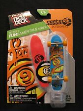NEW! TECH DECK Sector Nine 1/6 FunDamentals Series Finger board Display Stand