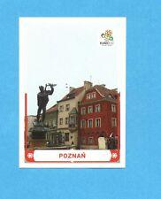 PANINI-EURO 2012-Figurina n.7- POZNAN -NEW-WHITE BOARD