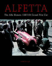 ALFA ROMEO ALFETTA 158 & 159 MOTOR RACING CAR BOOK jm
