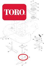 Genuine TORO - Timemaster 20977 BLADE ADAPTOR PLATE 120-5236 96*'