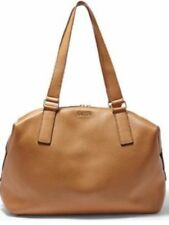 New Original Fossil Preston Satchel Camel Leather Large Hand Bag ZB6605235 £249
