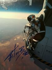 Felix Baumgartner Autographed Signed 11x17 Photo Authentic Red Bull Stratos