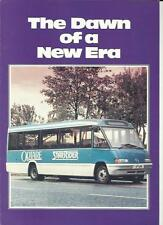 OPTARE STAR RIDER BUS COACH  SALES BROCHURE MID 80's