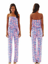 Lilly Pulitzer JUMPSUIT in  Iris Blue Werk It Size XS