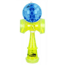 Duncan Chameleo Torch Kendama LED Glow Blue and Yellow Light Up