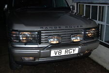 RANGEROVER  P38  FRONT SPOILER  LIGHT GUARDS