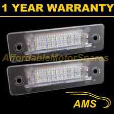 2X FOR PORSCHE 911 BOXSTER CARRERA 18 WHITE LED NUMBER PLATE LIGHT LAMPS