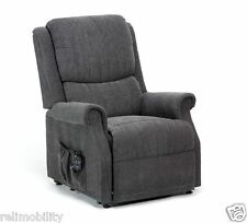 Indiana Riser Recliner Chair - Electric Lift Recline - Tilt Lift  - Charcoal