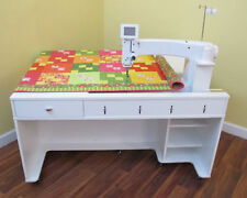 Arrow Quilty Heavy Duty Sewing Cabinet Table for ANY Long-Arm Machine
