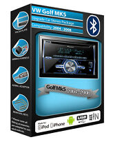Vw Golf Mk5 Radio de Coche Con Aux In Usb Reproductor Pioneer Reproduce Ipod Iphone