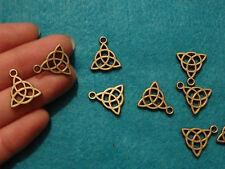 10 Nudo Celta Adornos Colgantes De Bronce Antiguo la fabricación de joyas al por mayor del Reino Unido