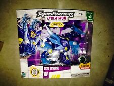 Transformers CYBERTRON CRYO SCOURGE ULTRA CLASS Hasbro 2006 SEALED New