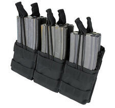 Condor MA44 Triple Stacker Mag Pouch for 5.56 & .233 Rifle - Black