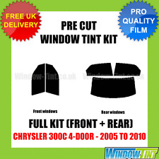 CHRYSLER 300C 4-DOOR 2005-2010 FULL PRE CUT WINDOW TINT KIT