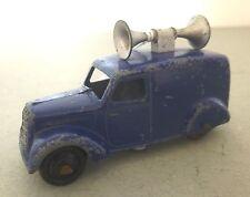 Dinky Toys Loud Speaker Van Post War Dinky Toys 34c/492  Commercial Model Black