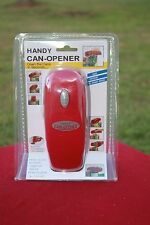 Handy Can-Opener Automatic Handheld Battery-Operated Portable Can Opener, RED