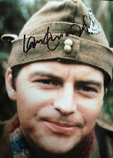 IAN LAVENDER - DADS ARMY ACTOR - STUNNING SIGNED COLOUR PHOTOGRAPH