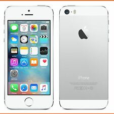 Apple iPhone 5s - 16GB-Plateado (Liberado) Smartphone Excelente Estado