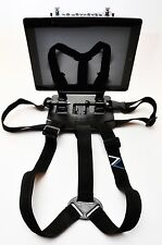 Tablet chest harness for iPad Air, iPad Mini and similar tablets and Computers