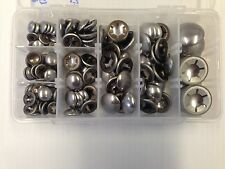 130 Piece Assorted Box Capped Starlock Washers For Metric Round Shaft 3mm-12mm