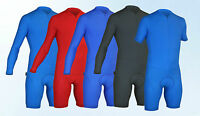 Impsport Time Trial Long / Short Sleeve Cycling Skinsuit - Red Blue Navy Black