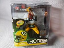 "AARON RODGERS QB 2012 McFARLANE Series 30 NFL 6"" Action Figure GREEN BAY PACKERS"