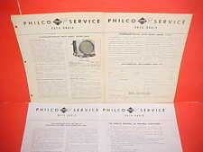 1946 1947 STUDEBAKER SKYWAY CHAMPION COMMANDER PHILCO AM RADIO SERVICE MANUAL 2