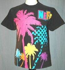 Neff Adult Medium Black Red T-Shirt (M Surf Surfing Skate Skateboard Snowboard)