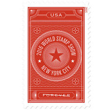 New USPS World Stamp Show - NY 2016 Forever Stamp Sheet of 20