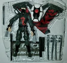 "GI Joe DARK NINJA 3.75"" Figure Retaliation Red Aerial Assault Ninja Leader"