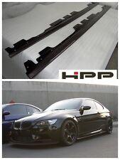 For BMW E92 E90 M3 Body Kit Carbon Fiber Side Skirt Extension Spoiler